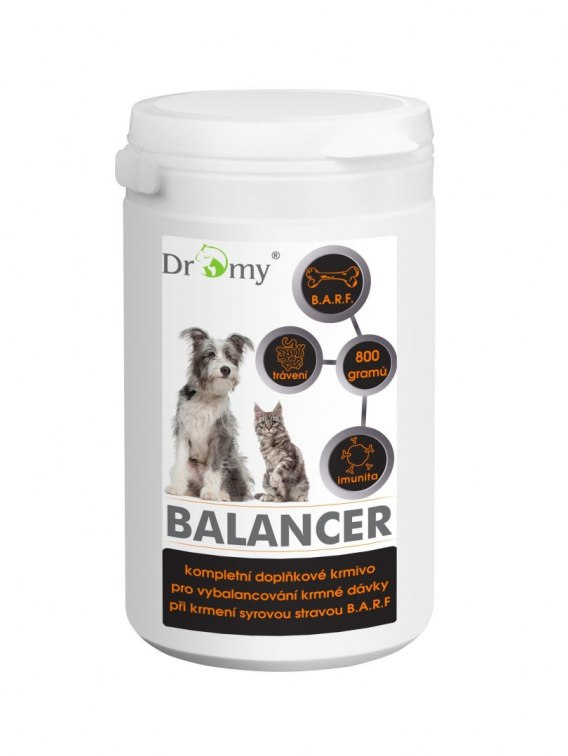 DROMY BALLANCER BARF 8 in 1 800 g